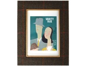 Campbell's of Beauly - Handmade tweed photoframe