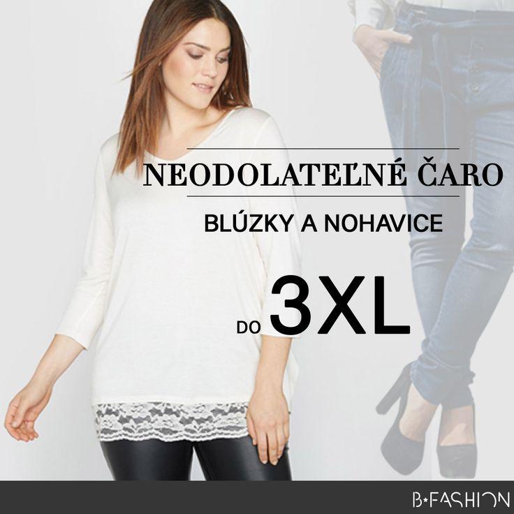 NEODOLATEĽNÉ ČARO. BLÚZKY A NOHAVICE DO 3 XL: 💖 https://sk.bfashion.com/blouses-trousers 💖