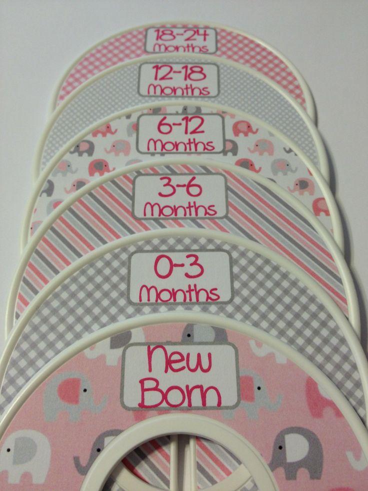 6+Custom+Baby+Closet+Dividers+Organizers+by+GinaMarieOriginals,+$18.00