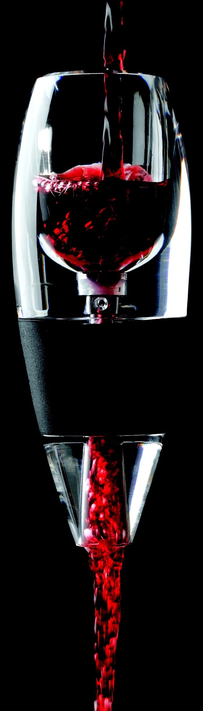 Vinturi Red Wine Aerator-- Available at the Northwoods Niche Gift Shop at Grizzly Jack's Grand Bear Resort Utica, IL next to Starved Rock State Park. www.grizzlyjacksresort.com