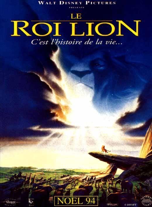 affiche du film Le roi lion (1994)