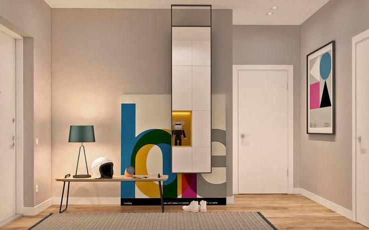 Ремонт холла с уникальным дизайом – стиль Берлин