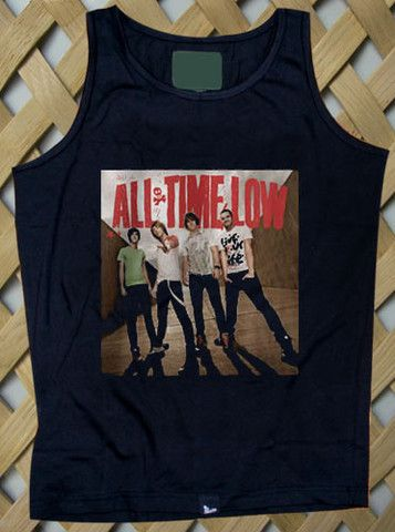 all time low band Tank top #tanktop #tank #top #shirt #tshirt #top #tee #trendy #clothing #graphictee #cloth #simple #fun