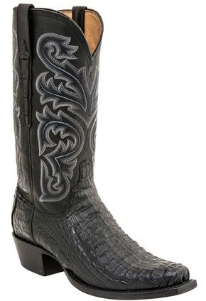 "georgetowncowboyboots - Lucchese Since 1883 Heritage Hornback Caiman Boots ""Brett"" H1016, $825.95 (http://www.georgetowncowboyboots.com/lucchese-since-1883-heritage-hornback-caiman-boots-brett-h1016/)"