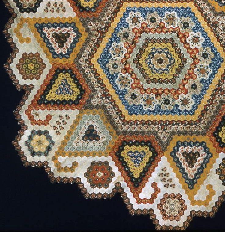 Intricate hexagon pattern