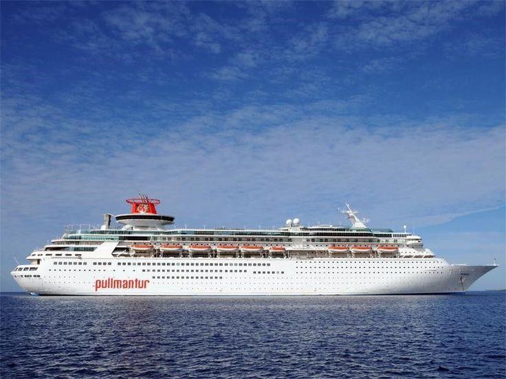 Pullmantur Sovereign - Itinerary Schedule, Current Position | CruiseMapper #cruceromeditarraneo