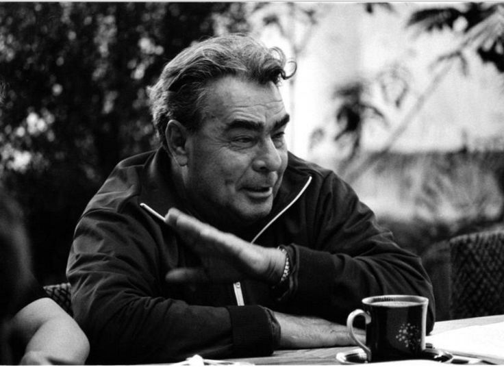 Brezhnev at his dacha in Zavidovo, 1970
