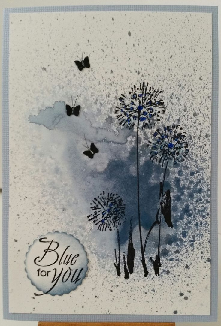 Quite Dandy 3623K by Penny Black; Blue for You 4069C by Stamp-it. Card by Susan of Art Attic Studio