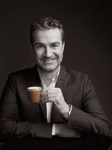 FLIPP Management | Jacque Malouf styles these coffee's for Nespresso