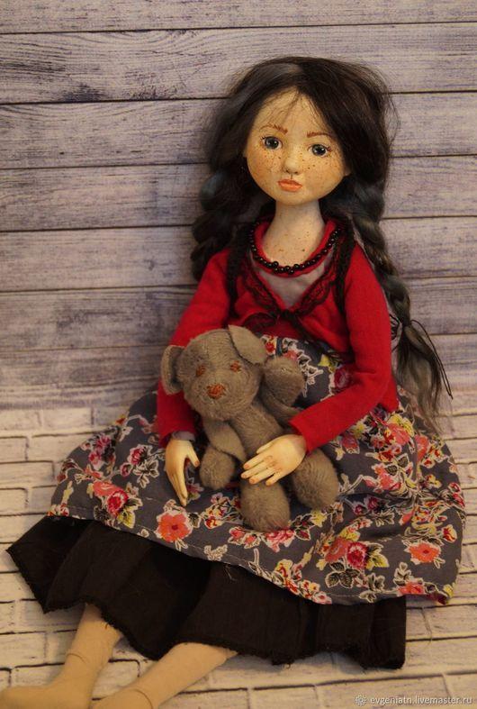 Авторская куклы ручной работы artdoll