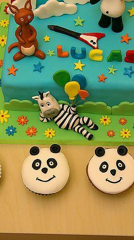 Cake 4U2 Take | Panda e os Caricas