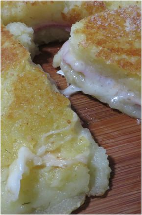 Frittata di patate ripiena, provala è troppo buona !! #frittata #patate #frittatadipatate #ricettegustose