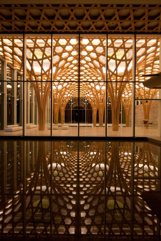 "Shigeru Ban 2014 Pritzker Architecture Prize Laurate ""Shigeru Ban's commitment to humanitarian causes through his disaster relief work is an example for all. Innovation is not limited by building type and compassion is not limited by budget. Shigeru has made our world a better place."""