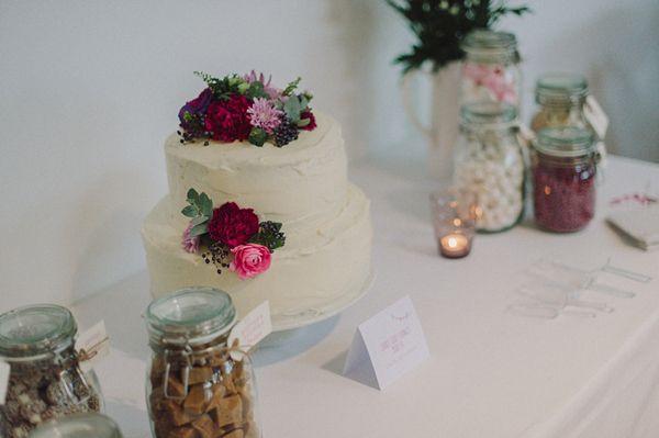 Cute cake display