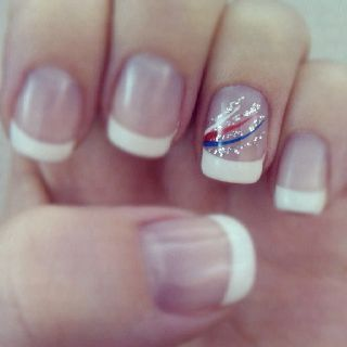 Olympic   DIY July 4th Nails for Kids