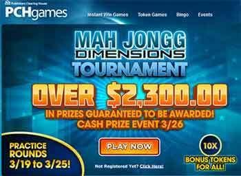 Play PCH Mahjongg Dimensions and PCH Mahjongg Minute at pchgames.com