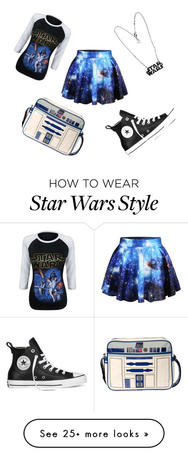 """""""Star Wars"""" by onyxvamp on Polyvore featuring Chicnova Fashion and Converse"""