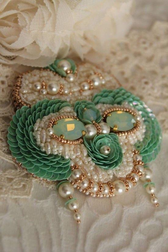 A jóia frisada por Inga-Marita. Broches. Discussão sobre LiveInternet - Serviço russo diários on-line