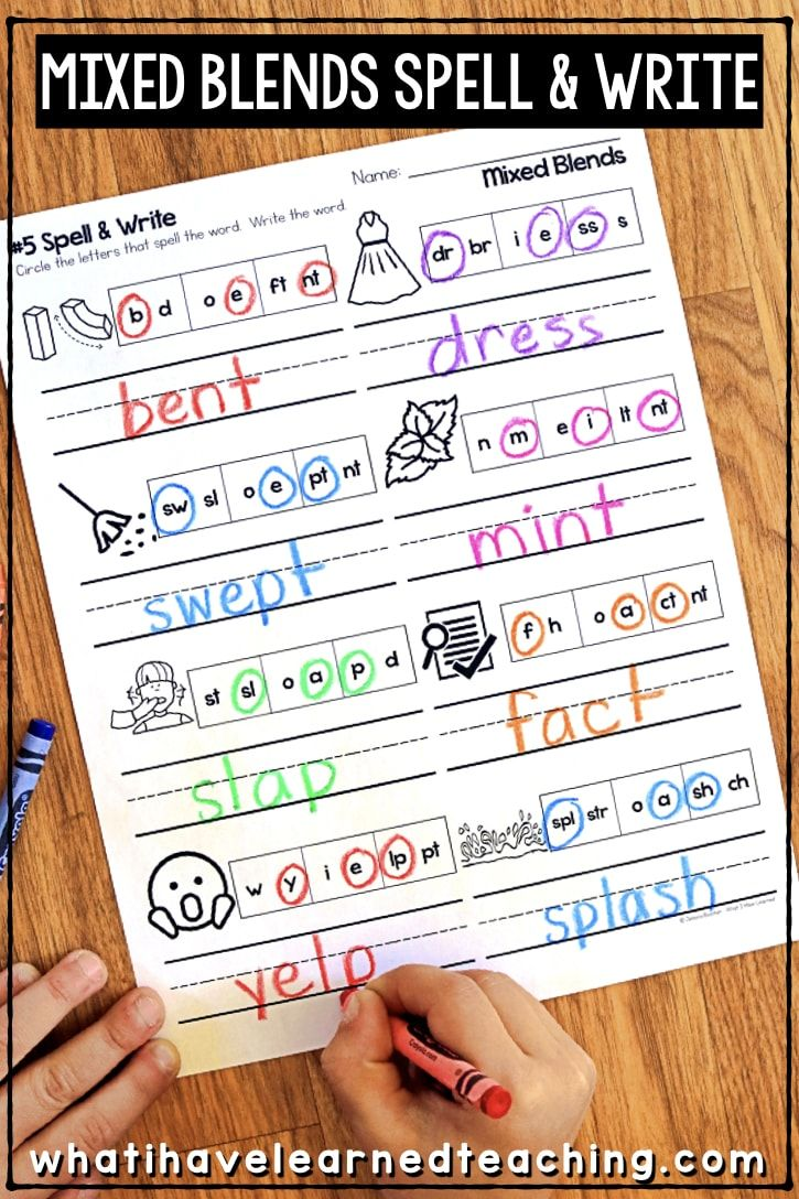 Phonics Worksheets For Initial And Final Blends Blends Worksheets Phonics Worksheets Phonics [ 1088 x 725 Pixel ]