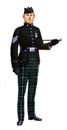 Cameronians(Scottish Rifles) Sgt