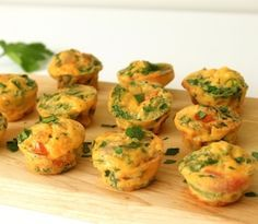 These simple dairy free, gluten free frittata mini muffins make a great snack.