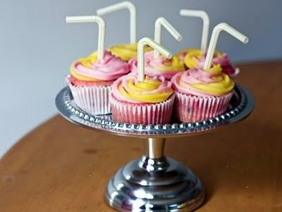 Pink lemonade cupcakes...easy too! And super cute!