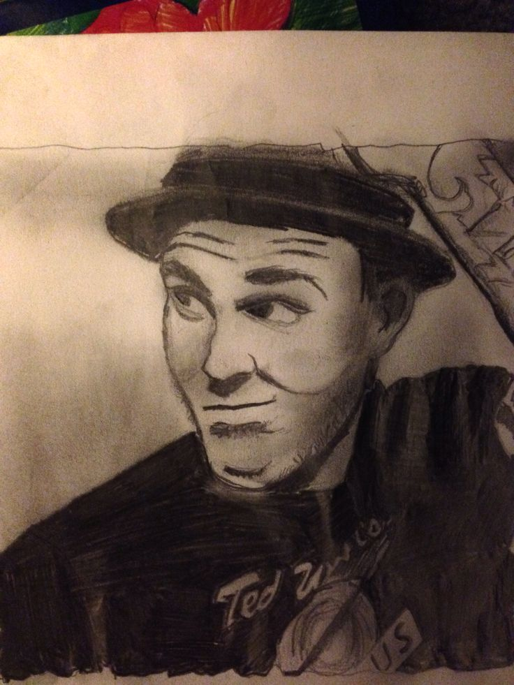 My sketch of brain Fallon vocalist of the gaslight anthem