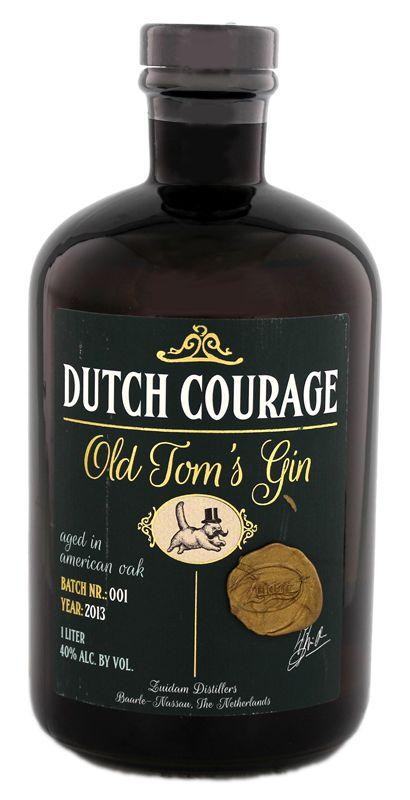 Zuidam Dutch Courage Old Tom´s Gin 1L 40% - Nederland