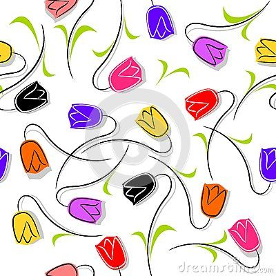 Download Tulip Flowers Seamless Stock Image for free or as low as 0.68 lei. New users enjoy 60% OFF. 22,758,859 high-resolution stock photos and vector illustrations. Image: 39617601