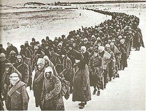 Német, olasz, román és magyar hadifoglyok, 1943