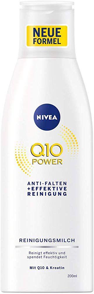 NIVEA Q10 Power Anti-Falten  Effektive Reinigung Reinigungsmilch für jünger au…