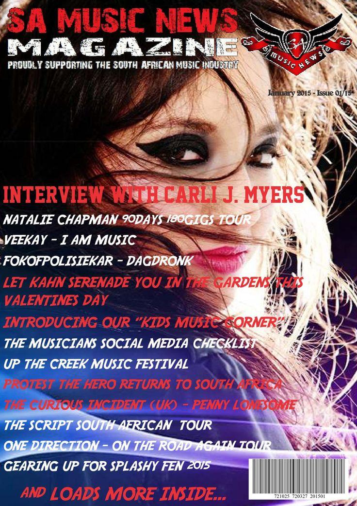 SA Music News Magazine January 2015  SA Music News Magazine - January 2015