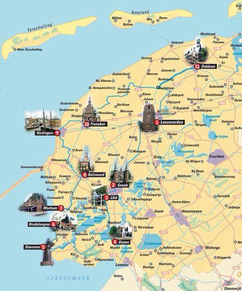 skating eleven citys , 200 km friesland , netherlands