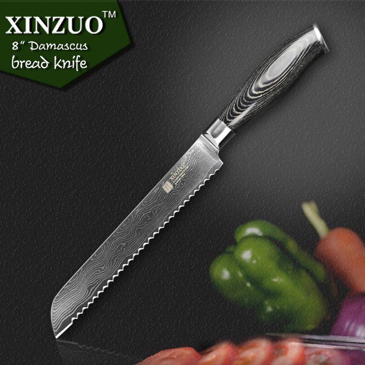 34 besten Damascus Bread Knives Bilder auf Pinterest   Damaszener ...