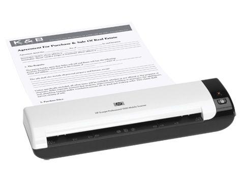 HP Scanjet Professional 1000 - mobilný skener