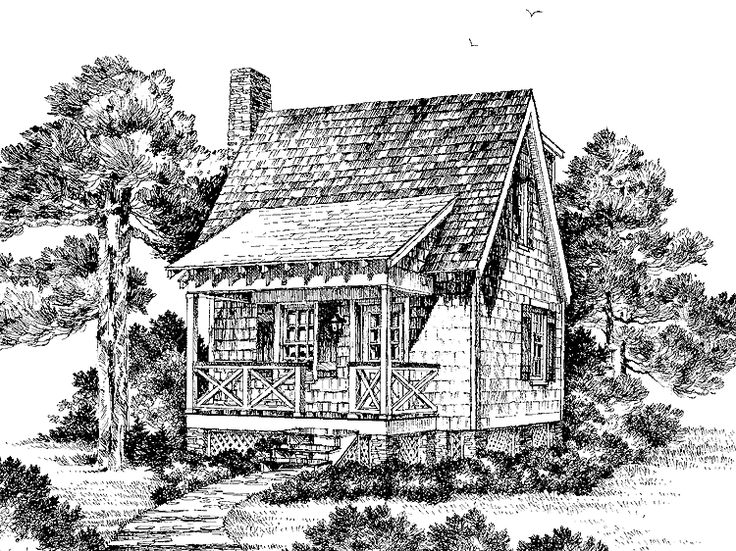 Eplans Cottage House Plan Crooked Creek From The