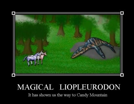 magical liopleurodon, charlie the unicorn