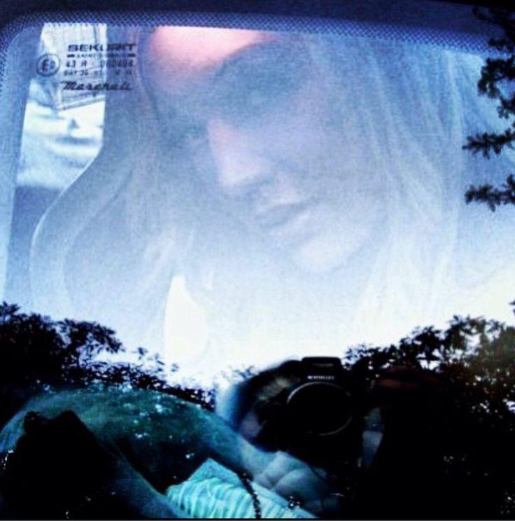 My face in window
