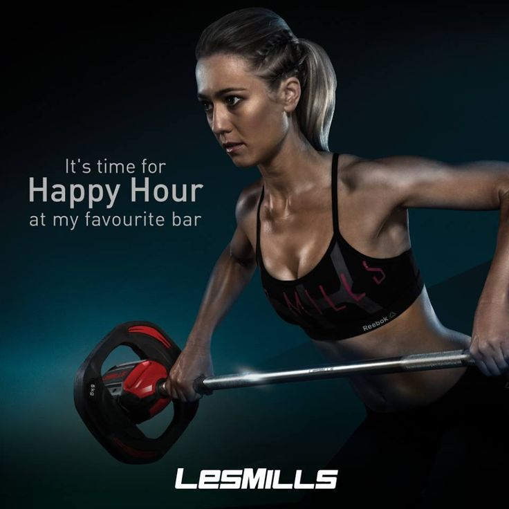 Happy hour at my favourite bar #BODYPUMP