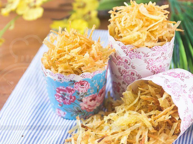 Como Fazer Batata Palha (sem fritura)   Receitas de Minuto - A Solução prática para o seu dia-a-dia!