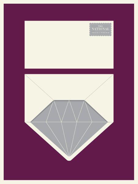 andrei robu: The National, Concerts Poster, Idea, Jason Munn, Diamonds, Envelopes Liner, Graphics Design, Small Stakes, Design Blog