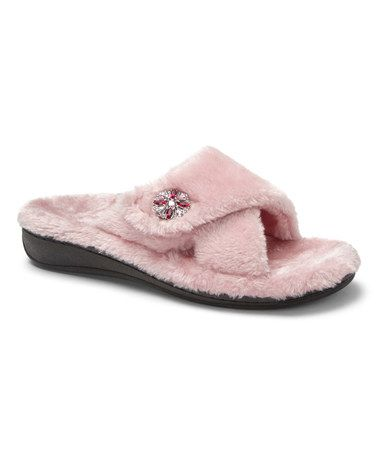 The Vionic Relax Luxe Orthotic Support Slipper Slip into this winter  essential, the Vionic Relax Luxe slipper. The Relax Luxe features an  adjustable ...