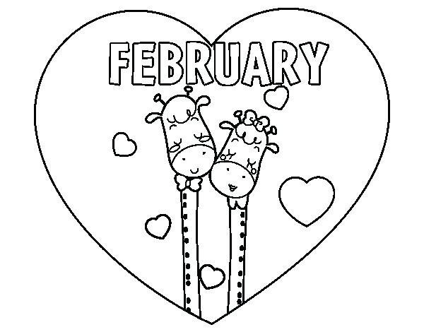 February Coloring Pages Best Coloring Pages For Kids Super Coloring Pages Coloring Pages Love Coloring Pages