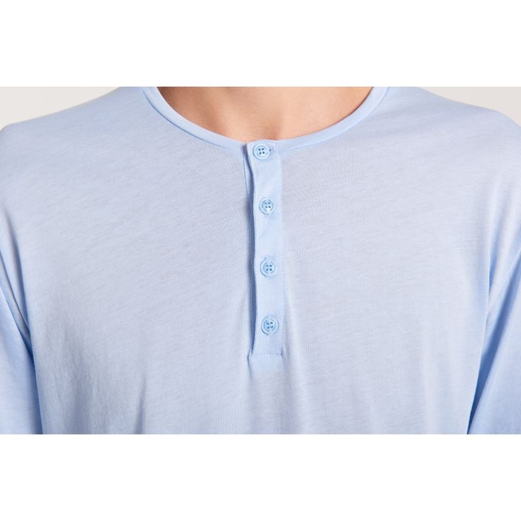 Henley Tunisian Blue - Men