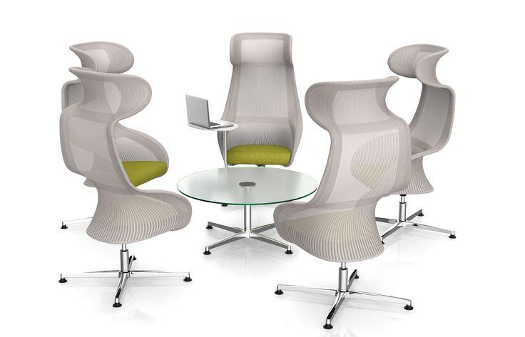 Oasis MOBICA+ Oasis, een stoel van PLAN@OFFICE ontworpen door Martin Ballendat voor MOBICA+.