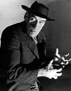 """""""House of Horrors"""" (1946) - Rondo Hatton as The Creeper"""