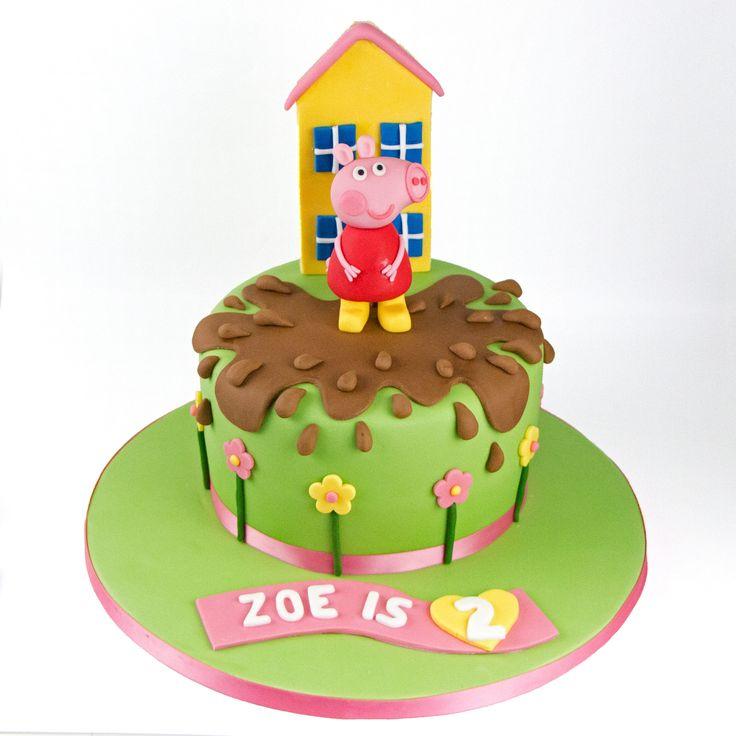 The  Best Peppa Pig Cakes Ideas On Pinterest Peppa Pig - Owl percy pig birthday cake