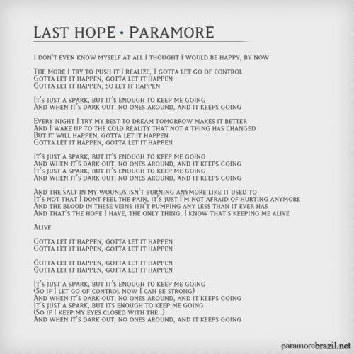 Season of hope song lyrics