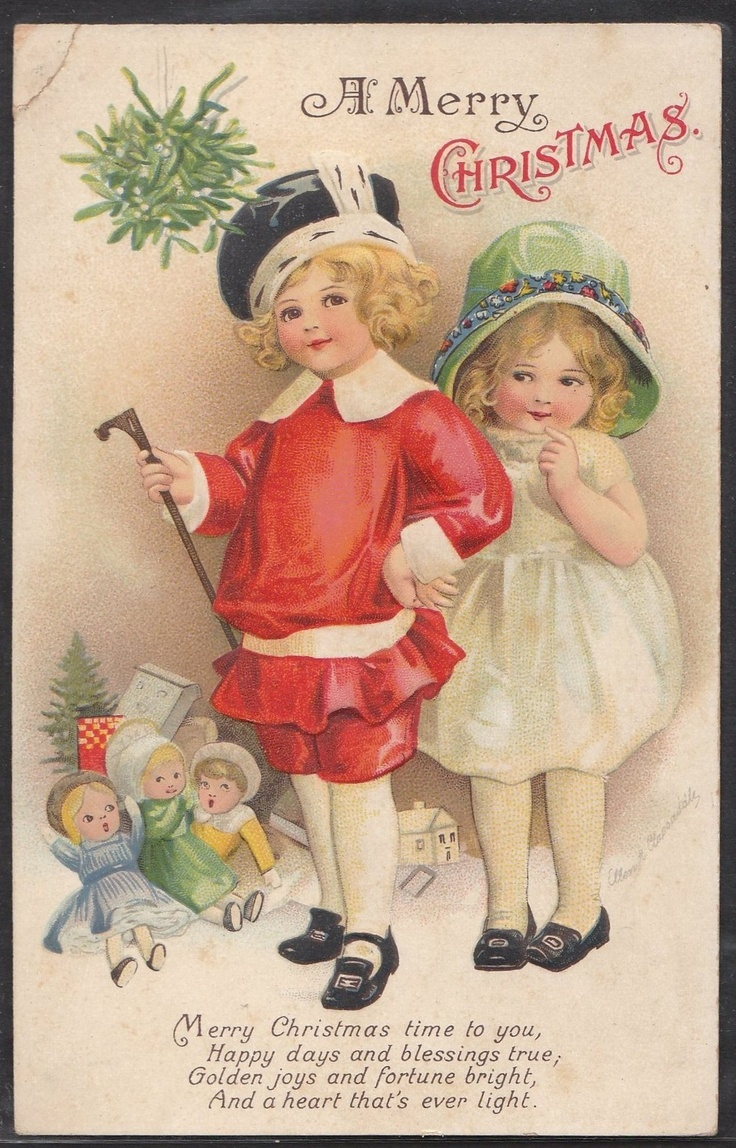 Christmas Toys Cards : Best american postcards from the nursery images on