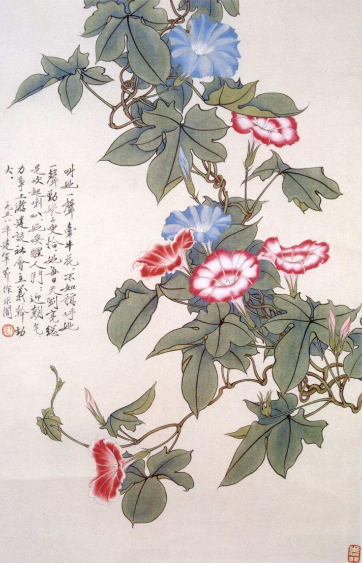 Yu Feian , 牵牛花 Morning Glory